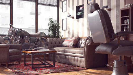 Render Barbershop Firenze
