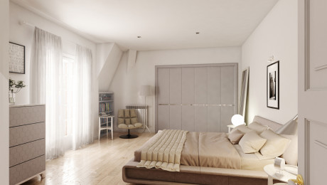 Render Interni Home Staging Virtuale Palermo