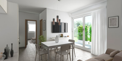 Render Home Staging Virtuale per Iniziativa Immobiliare Roma