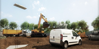 rendering roma cantiere velletri